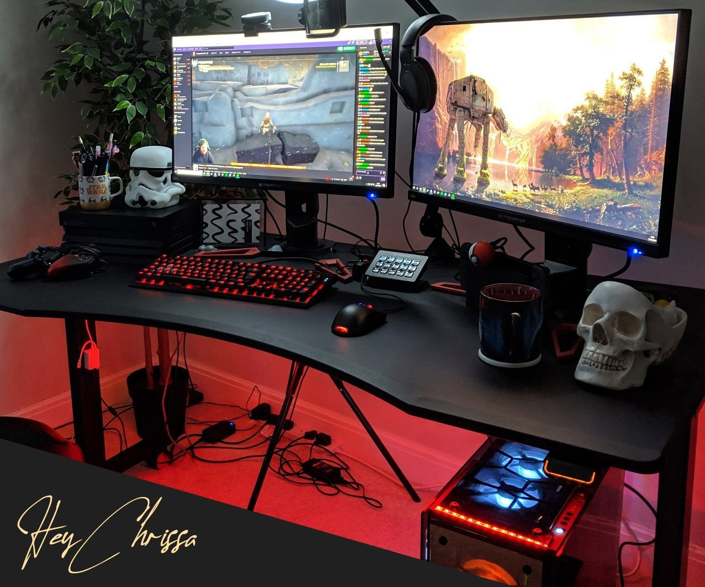 Picture of: Halberd Gaming Desks Enhance Your Environment Now